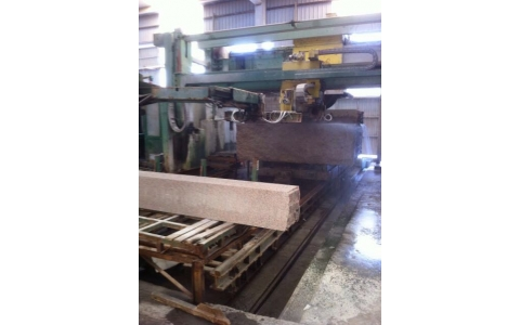 Granit block cutter Simec 50 disck max 1600 with automatic unloader year 1998.