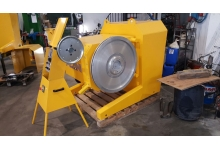QUARRY WIRE CUTTING MACHINE FOR MARBLE AND GRANIT